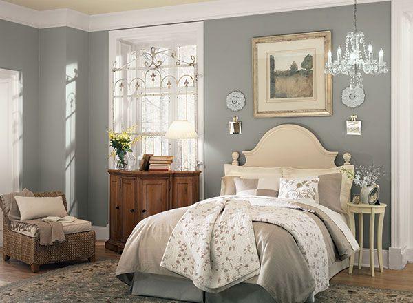 Serene Gray Hideaway Gray Benjamin Moore And Bedrooms