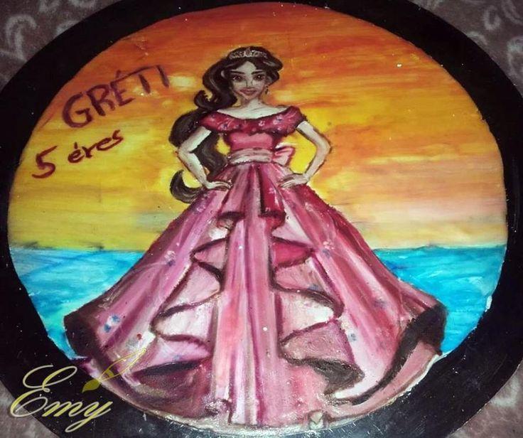 Princess Elena / Elena of Avalor - cake by EmyCakeDesign