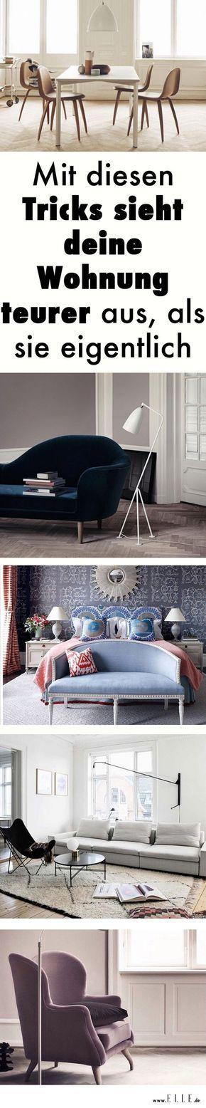 Deine Freunde werden staunen: Mit diesen sieben Interior-Tricks erhält deine Wohnung sofort einen elegant-edlen Look. Das Überraschende: Es geht ganz schnell und du zahlst nicht viel dafür!