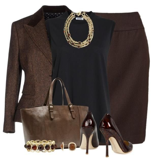 Pencil Skirt Outfit – Modern Work Outfit