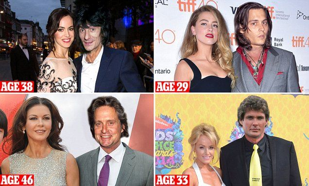 Celebrity couples with huge age differences between them ...