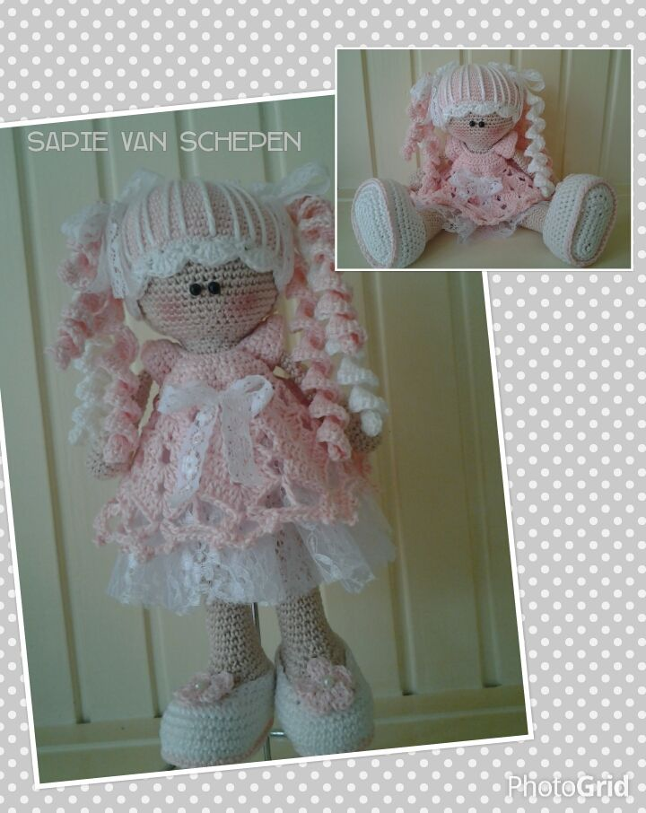 nienke roze, eigen patroon, my pattern https://www.facebook.com/groups/1396068580628258/