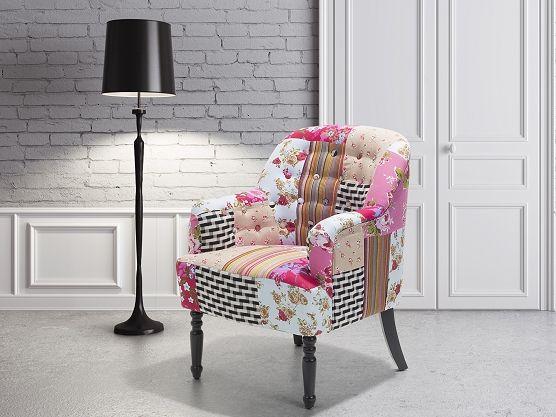 Fauteuil bont - oorfauteuil - relaxfauteuil - televisiefauteuil - stoffen stoel - MANDAL ✓ Koop zonder risico op rekening met 365 dagen herroepingsrecht