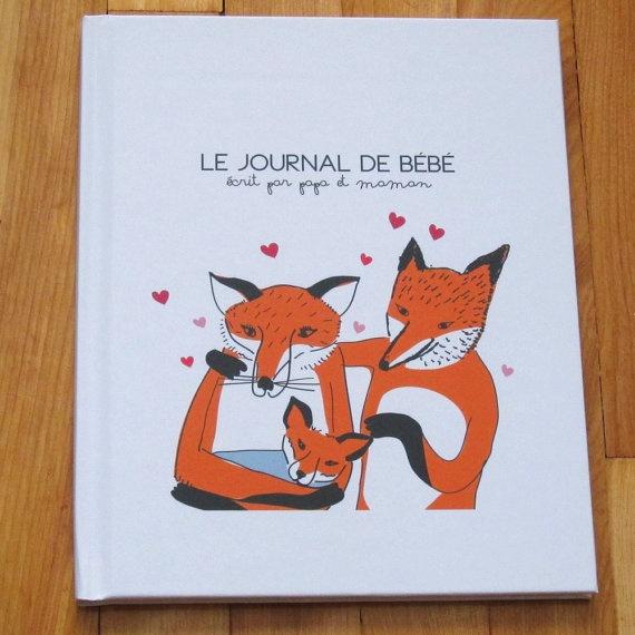 Baby's First Year Book Première Année de Bébé par moonandsparrow, $65,00