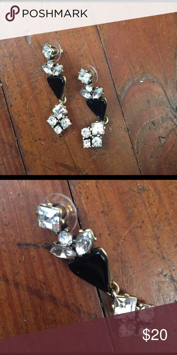 """J. Crew earrings Beautiful J. Crew earrings. Approx. 1"""" drop. J. Crew Jewelry Earrings"""