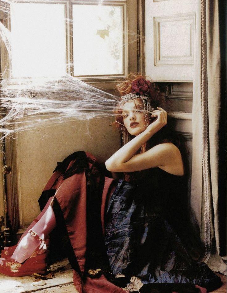 Anna Maria Jagodzinska for Vogue Italia by Ellen Von Unwerth.