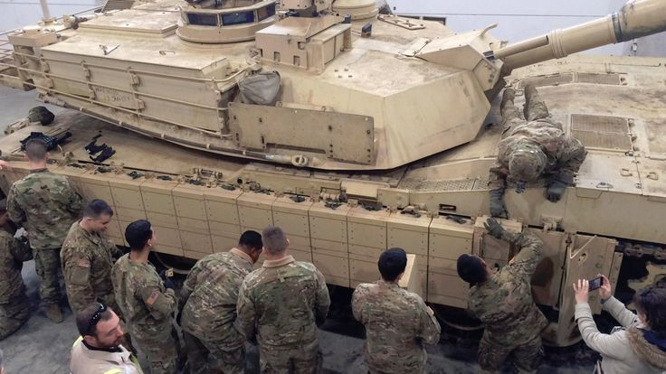 U.S. Army M1 Abrams Tanks in Europe Are Getting Explosive Armor - The Drive