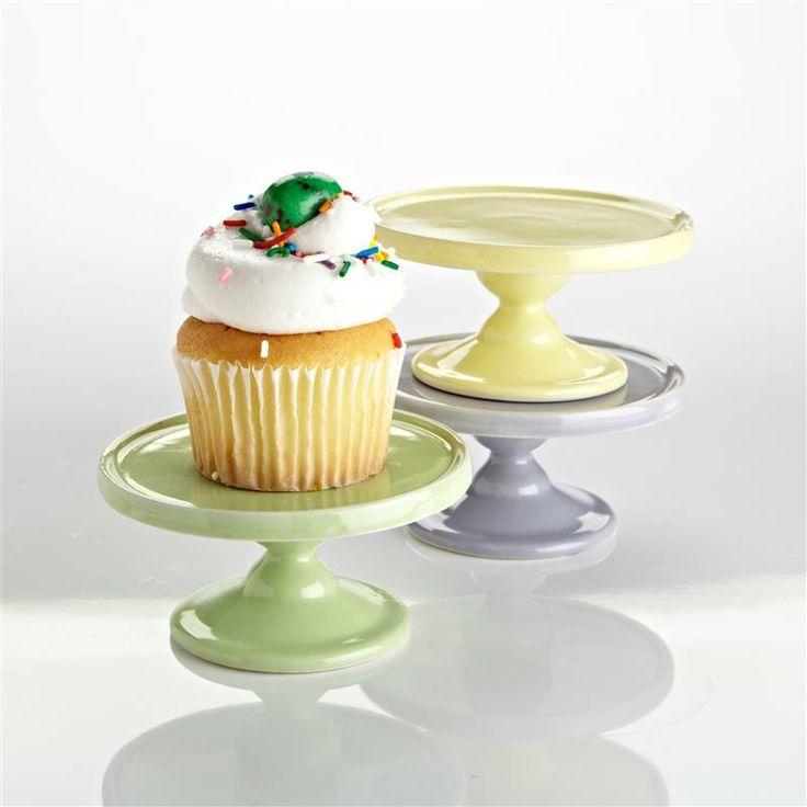 Bia Cute Cakes Mini Ceramic Cupcake Stand Ea Asstd