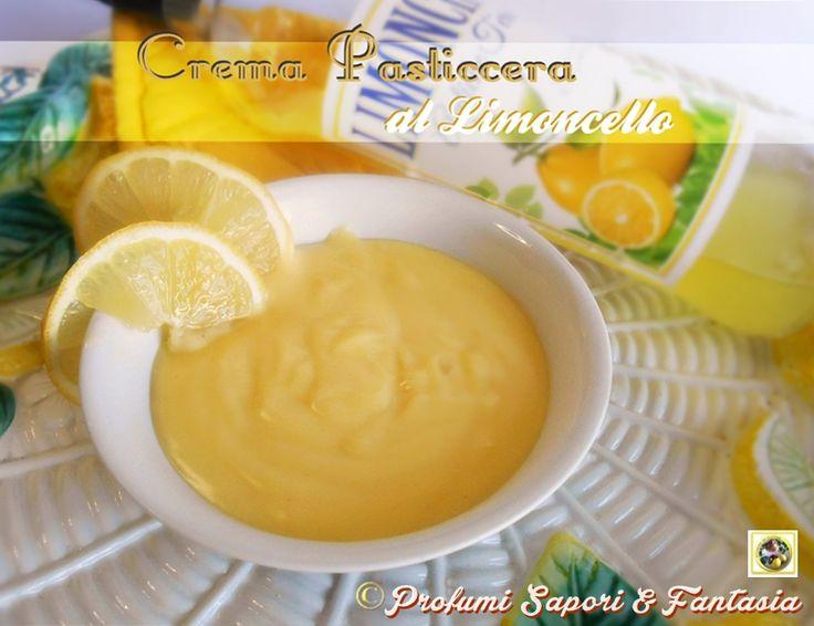 La crema pasticcera al limoncello una volta assaggiata è molto difficile da dimenticare. Ottima da servire come dessert in coppa a fine pranzo o cena.