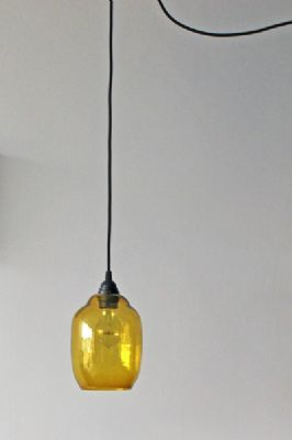 Glass Shade - Amber