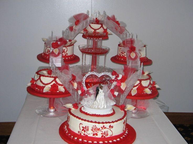 Torte nuziali rosse (Foto) | Matrimonio