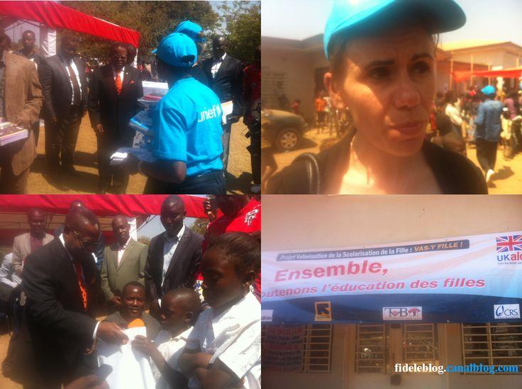 Rentrée Scolaire avec L'UNICEF à Lubumbashi - RDC **Phot: FideleBlog