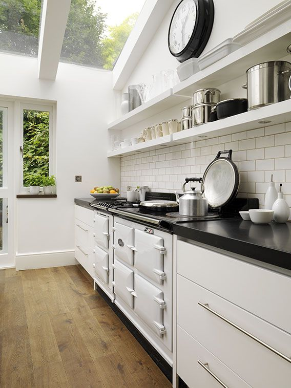 I would love a kitchen extension with a roof like this x