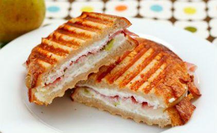 Σάντουιτς με προσούτο και τυρί κρέμα