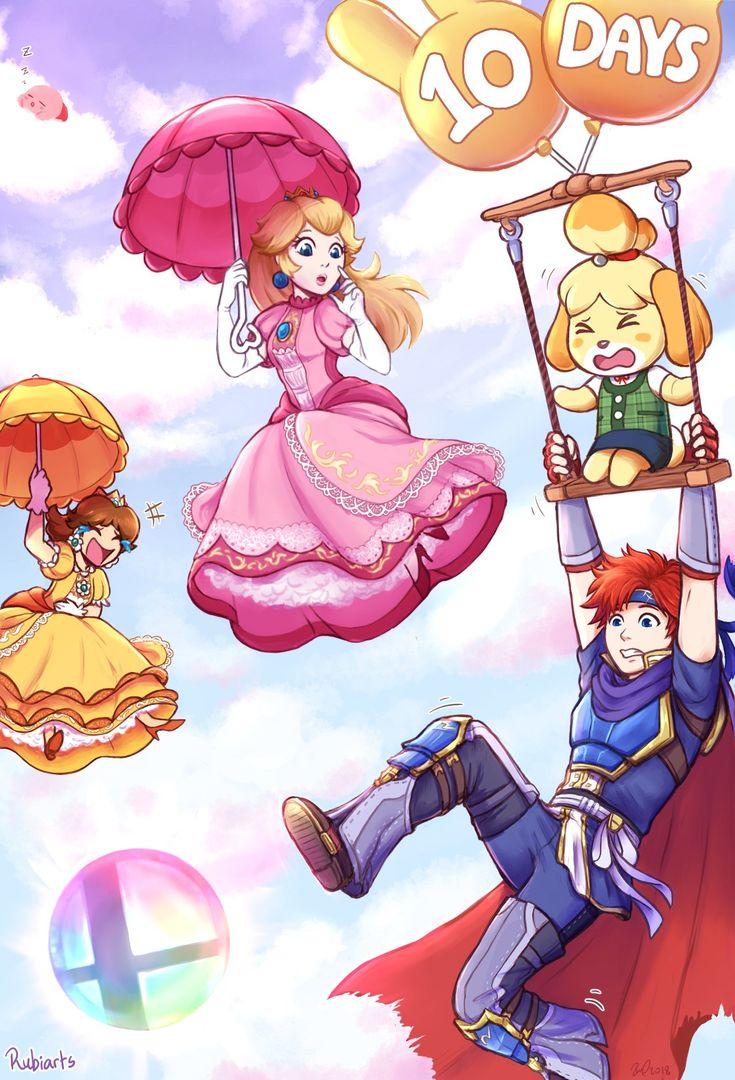 Super Smash Bros Ultimate D 10 Artist Ruba Super Smash Bros Super Smash Bros Memes Super
