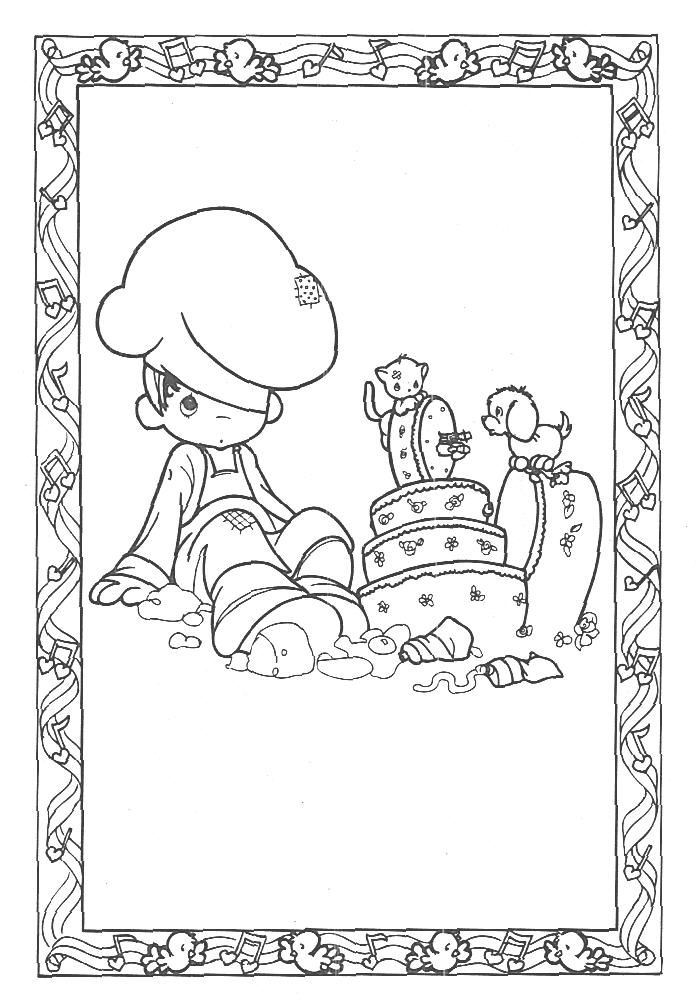 301 best #Coloring Pages *PRECIOUSE MOMENTS* images on Pinterest ...