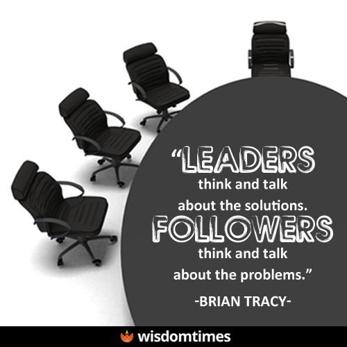 Quotes about Success : Dont be a follower Be a leader!  #leadership #responsibility #solutions #pro
