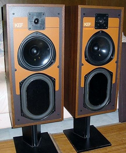 KEF Carlton III speakers