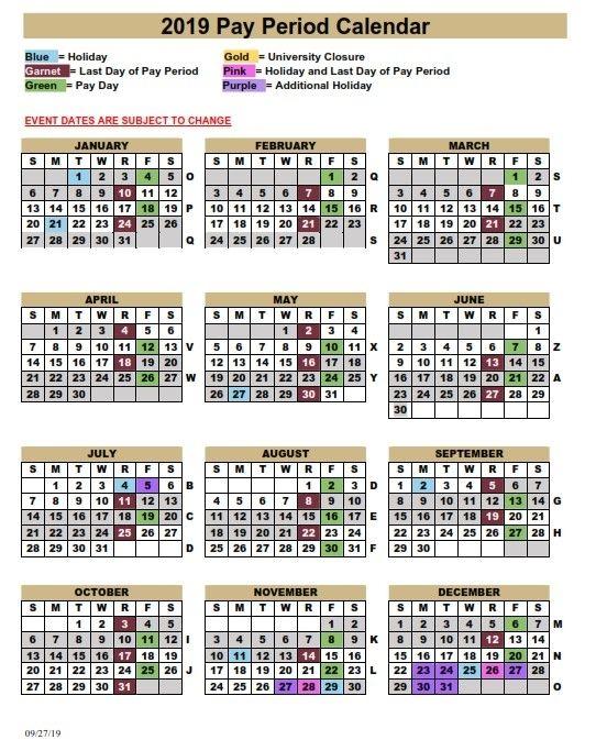 Fsu Pay Period Calendar 2020 2020 Amp 2021 Pay Periods Calendar In 2021 Period Calendar Calendar Organization Calendar