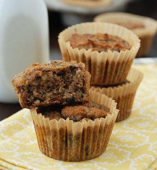 Banana Muffins (with Coconut Flour)
