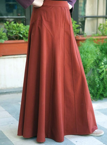 Gorgeous modest skirts that'd work for many women-- tzniut, Apostolic, Mormon or Muslim from shukronline.com.