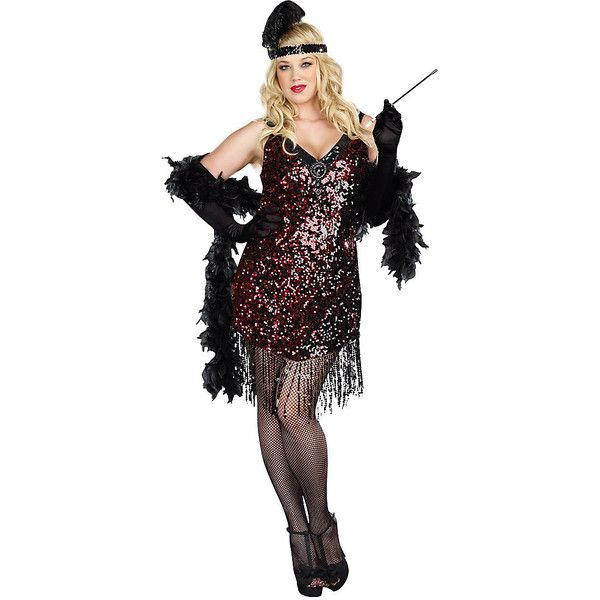 Adult Dames Like Us Plus Size Sexy Costume ($65) ❤ liked on Polyvore featuring costumes, halloween costumes, multicolor, plus size, dreamgirl costumes, sexy costumes, womens plus costumes, plus size halloween costumes and adult plus size costumes