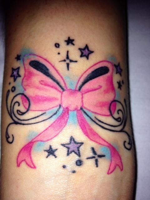 My new bow tattoo!
