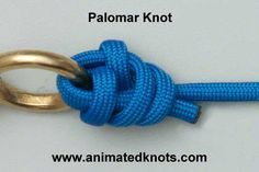 Animation: Palomar Knot Tying (Fishing) -KH use this one