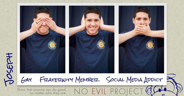 Joseph: Gay, Fraternity Member, Social Media Addict - Spreading kindness wherever I go.