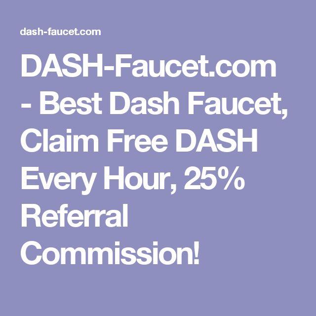 DASH-Faucet.com - Best Dash Faucet, Claim Free DASH Every Hour, 25 ...