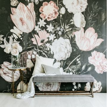 Anewall offers a collection of vintage murals that make the perfect wallpaper or one wall mural. Our self-adhesive, lightly textured, fabric wallpaper are easily removable.