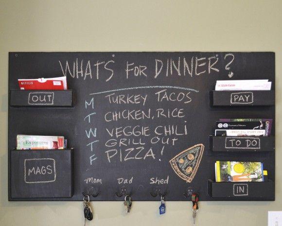 Le blackboard devient chalkboard ! {peinture ardoise}