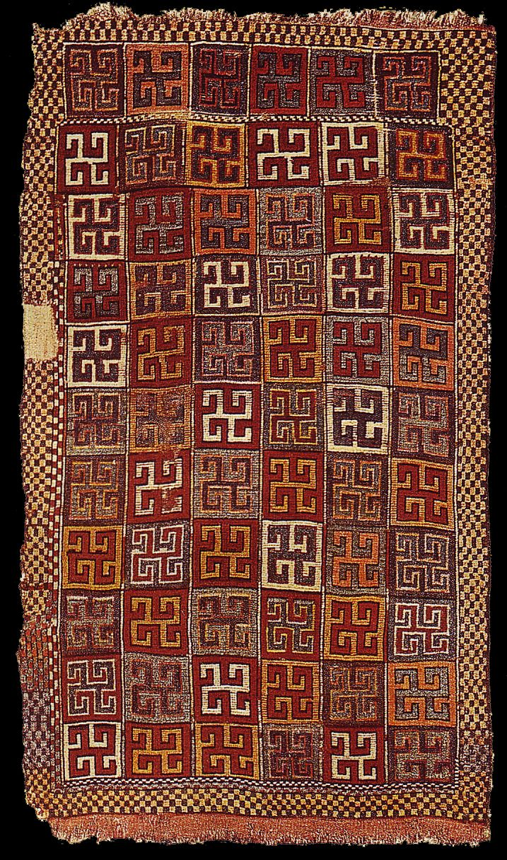 OTTOMAN CARPETS IN THE XVI - XVII CENTURIES (16-17TH CENTURIES) An Anatolian rug which was sold to the Berlin Museum by Julius-Harry Loytved in the early 20th century. The rug was destroyed during the Bombing of Berlin in 1945 (World War II). Inv. no: 946   116x192 cm Acquired in Konya in 1908.