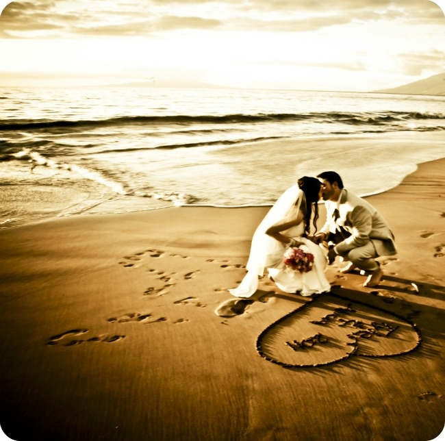 Hawaii Wedding, picture by lexigraphics