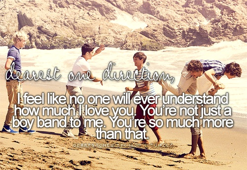 dearest one direction <3 i love you