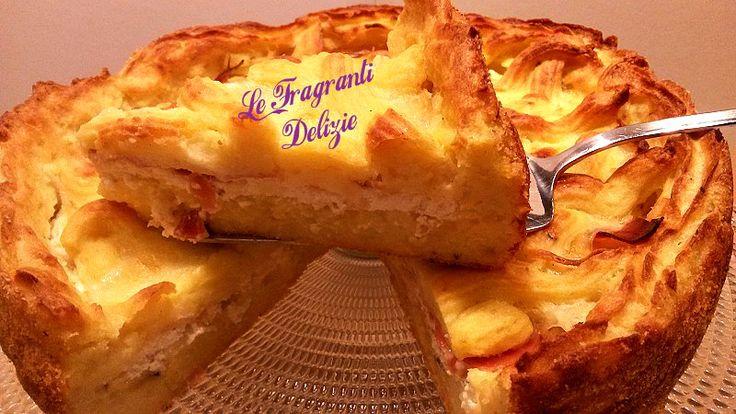 Crostata Salata   Le Fragranti Delizie