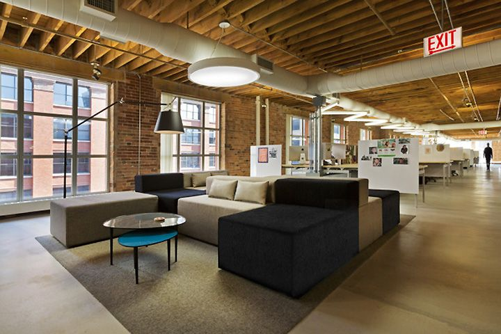 Tris3ct Office In Chicago By Twofold Studio Office