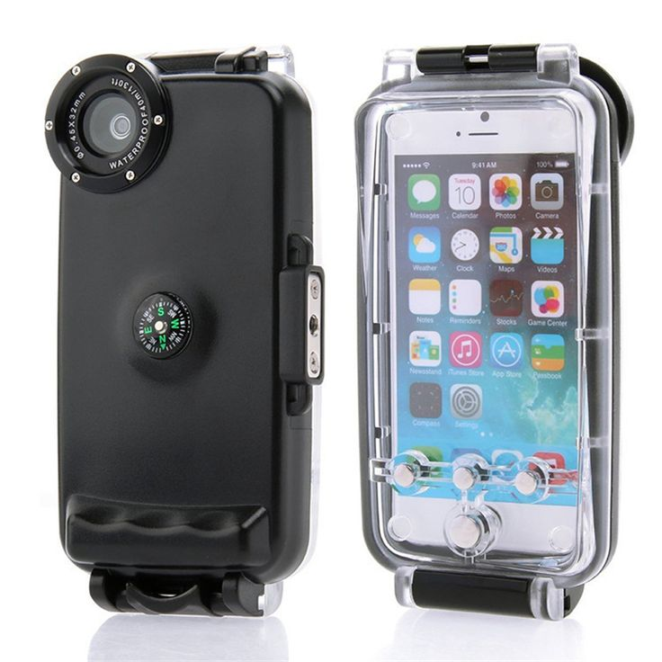 40M Diving Waterproof Case for iPhone 6 4.7inch High Quality Plastic Waterproof…