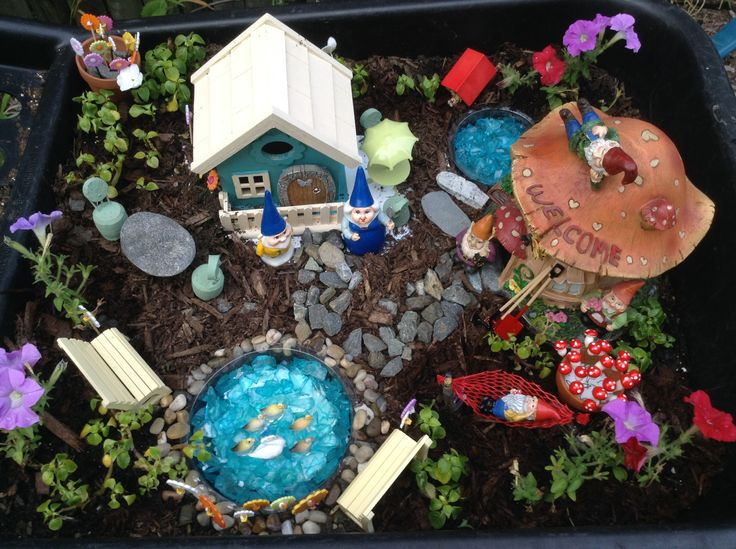 36 Best Images About Miniature Gnome Fairy Gardens On