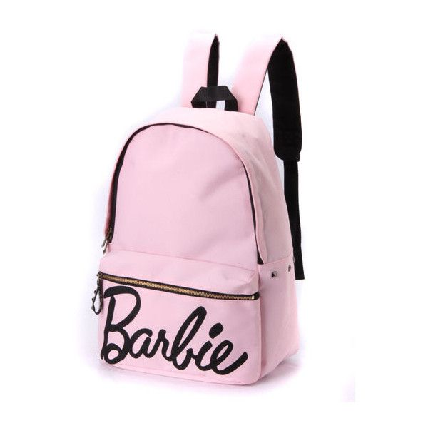 GALET'S:バービー/barbie スタッズ付き リュック ❤ liked on Polyvore featuring bags and backpack