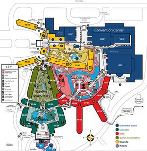 Maps of Opryland Hotel: Map of Opryland Hotel