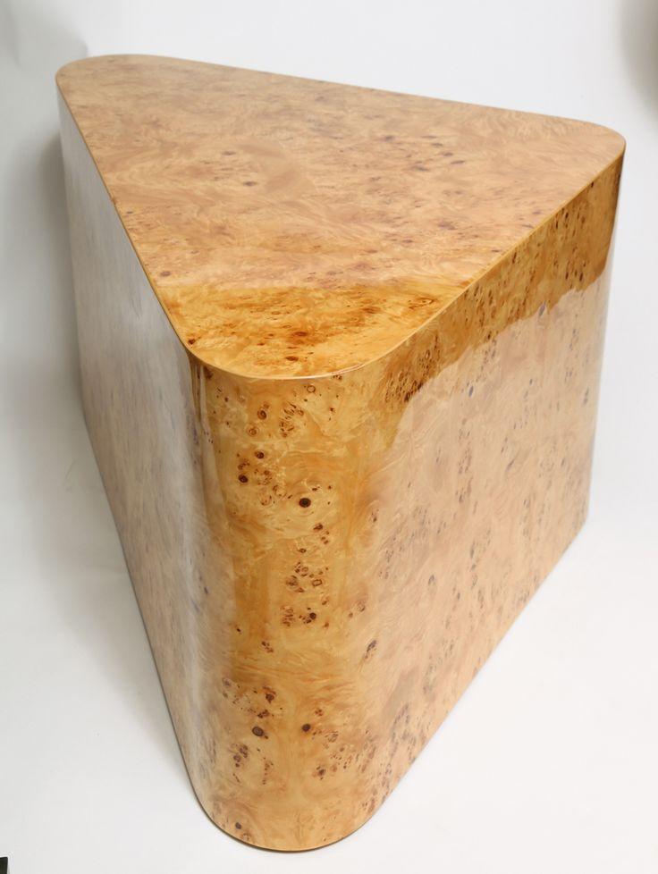 1stdibs | Burled Maple Coffee Table by Habitat International