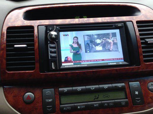 màn hình dvd theo xe toyota Camry 2005-2017đầu dvd cho xe Toyota Camry 2017