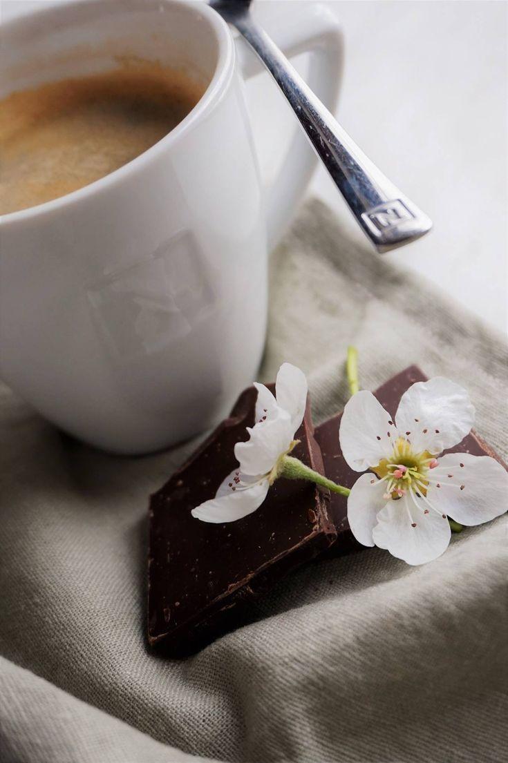 Cils linen apron + Nespresso = Pure love 😍