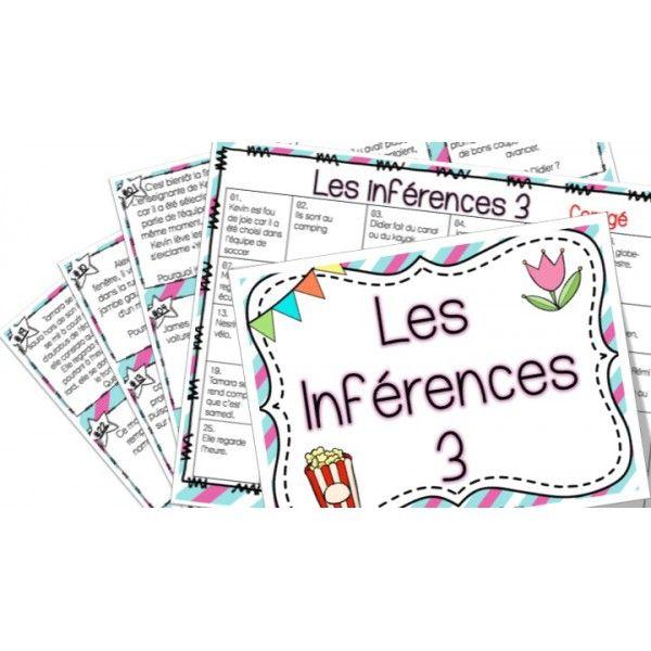 Les inférences 3 - Cartes à tâches !