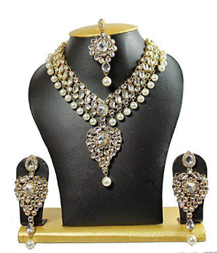 VVS Jewellers Bollywood Inspired Kundan Jewellery Set Wit... https://www.amazon.com/dp/B01M3TS0ZB/ref=cm_sw_r_pi_dp_x_UkxPyb434EX7M