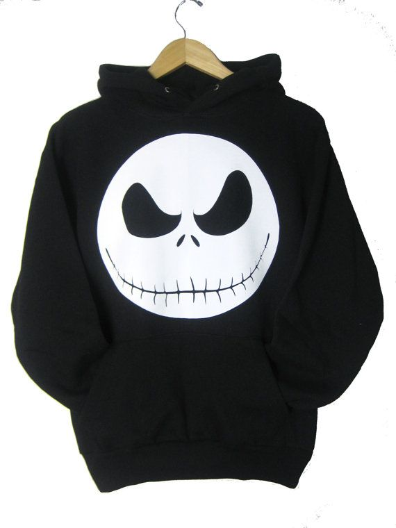 Jack Skellington Hoodie Nightmare before christmas by ApurimacShop, $27.99
