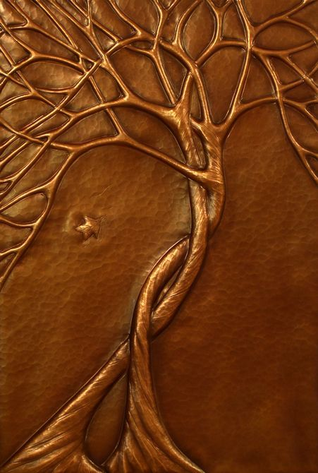 Some repousse inspiration for everyone. Laurie C., Copper Repousse Artist } COMMISSIONS 1{
