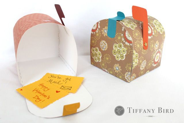 free Valentine's day mailbox template