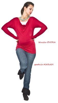 Evora red www.maternity.com.pl